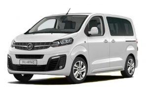 Opel Zafira Life New 2021: комплектации и цены официальных дилеров в Москве